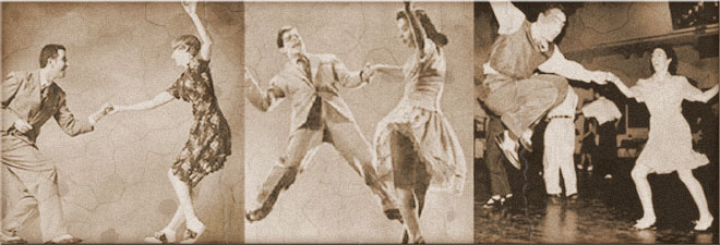3 Swing Dance Couples