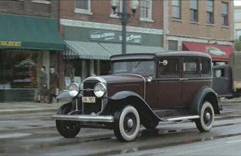 Vintage Gangsta Car